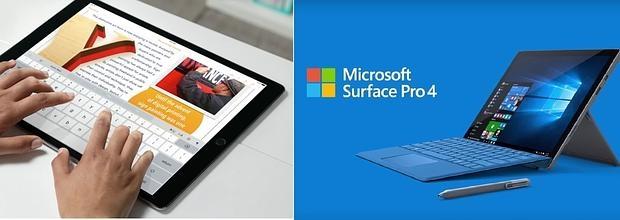 APPLE: El iPad Pro frente al Surface Pro 4: ¿adiós al PC?