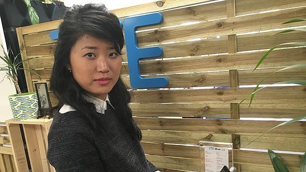 Jia Wei, directora de marketing de ZTE España