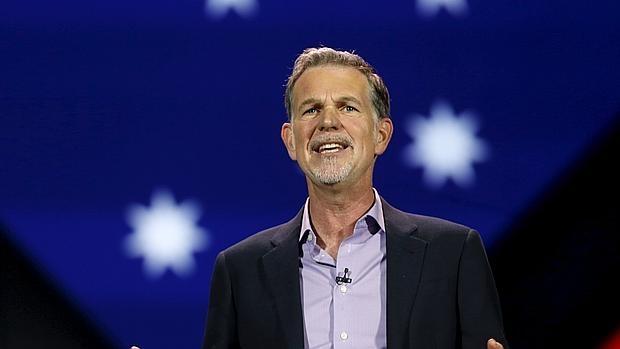 Reed Hastings, consejero delegado de Netflix, durante su intervención