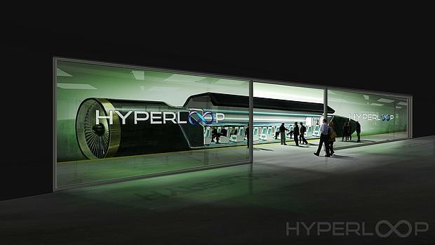 Los primeros tubos del Hyperloop llegan al desierto de Nevada