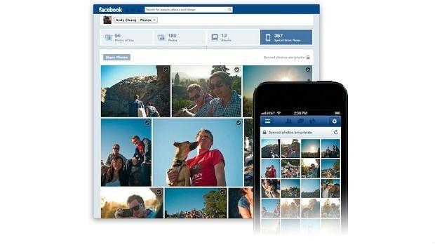 Facebook elimina la opción de la sincronización de fotos