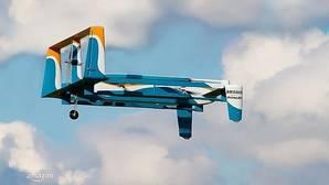 Los drones de Amazon: capaces de transportar hasta 2.3 kilos de carga