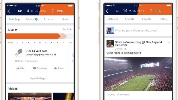 Sports Stadium: Facebook comienza a hacer deporte