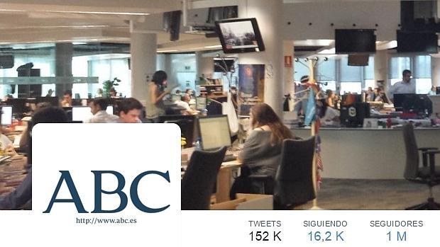 abc seguidores twitter noticias millón actualidad cuenta