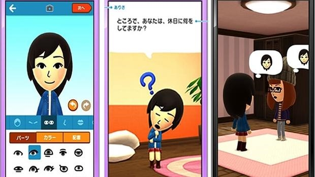 Miitomo, la primera «app» para móviles de Nintendo, llega en marzo a España