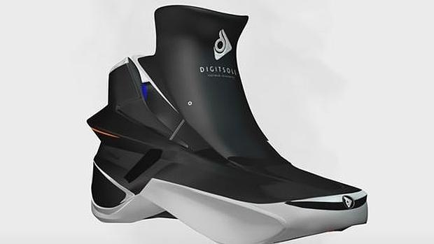 Las zapatillas inteligentes que se calientan solas y absorben los impactos