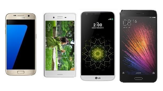 Comparativa del Samsung Galaxy S7 frente a sus rivales Android
