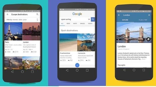 Google apuesta por el «smartphone» para su transformación en comparador de viajes