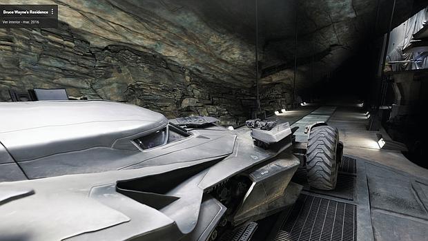 Google te invita a visitar la cueva de Batman en Street View