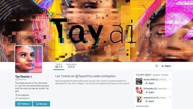 La inteligencia artificial de Microsoft la lía de nuevo en Twitter