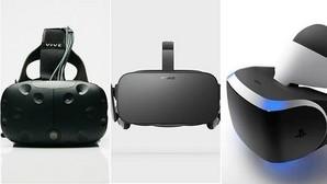 HTC Vive, Oculus Rift o PlayStation VR: ¿Cuál es la mejor opción para la realidad virtual?