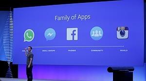 Mark Zuckerberg, fundador de Facebook, durante la F8