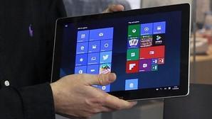 Una tableta frente a Surface