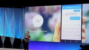 Mark Zuckerberg, consejero delegado de Facebook, durante una intervención