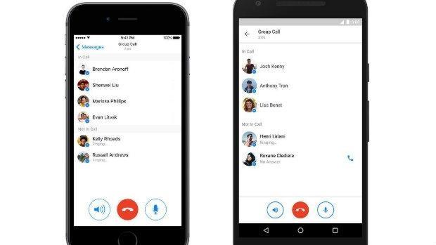¿Quieres llamar gratis a varios amigos a la vez? Descárgate Facebook Messenger