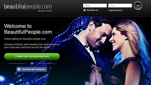 La portada de la web Beautiful People