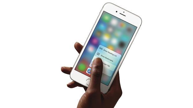 Detalle del iPhone 6S, el teléfono más avanzado de la compañía