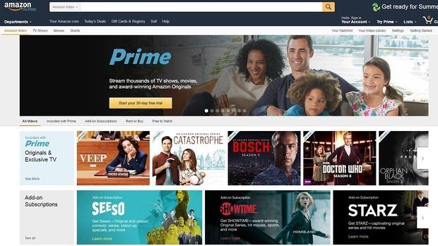 Amazon se enfrenta a YouTube y lanza una nueva plataforma de vídeos