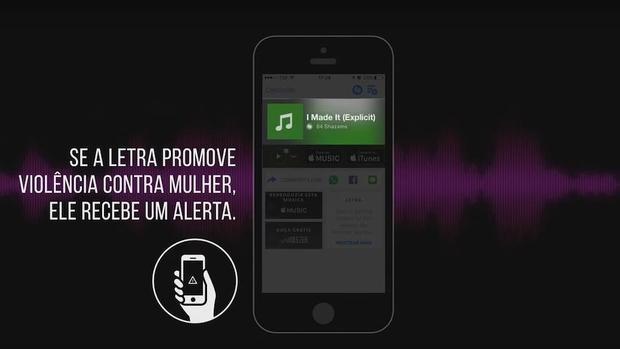 Campaña para anunciar la nueva alerta incorporada a Shazam