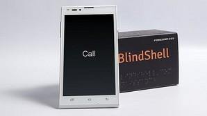 El «smartphone» «BlindShell»