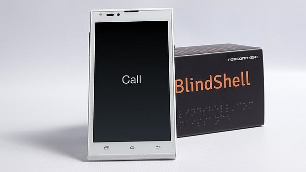 El primer «smartphone» para ciegos con pantalla táctil ya está aquí