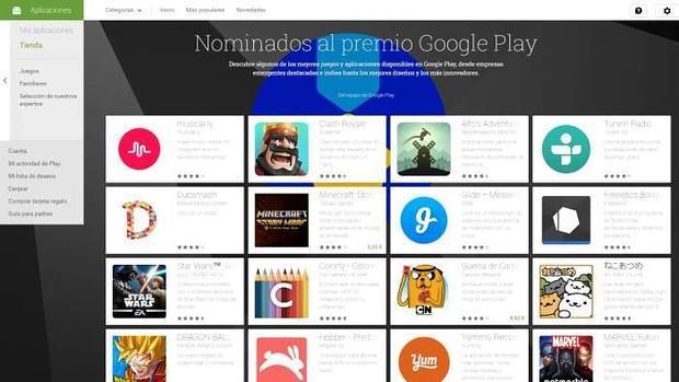 Las 10 mejores aplicaciones en Android 2016, según Google Play Awards 2016