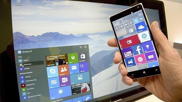 Windows 10 en un «smartphone»