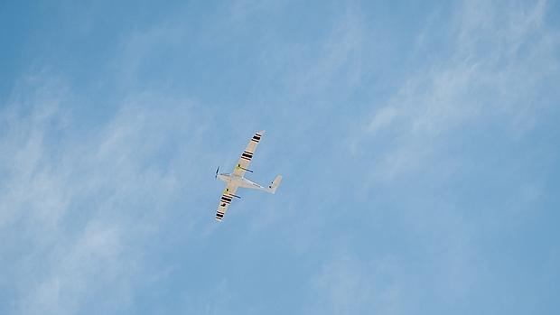 Detalle del drone Savant utilizado para este experimento