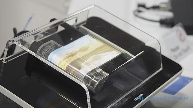 Samsung trabaja en una pantalla enrollable