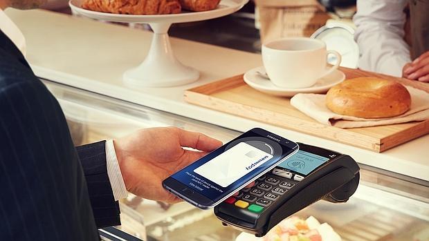Detalle del funcionamiento de Samsung Pay