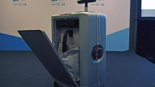 La «maleta inteligente» que te sigue allá donde vayas
