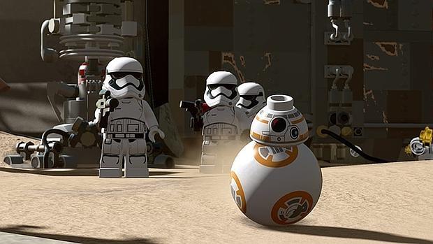 «Lego Star Wars: El Despertar de la Fuerza»: el droide BB-8 hace de las suyas