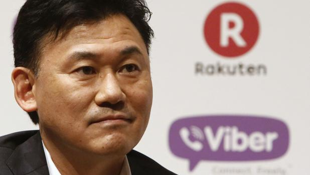 Hiroshi Mikitani, fundador y director ejecutivo de Rakuten
