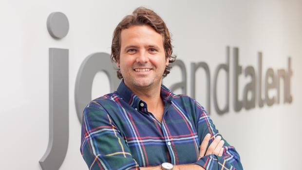 Juan Urdiales, uno de los fundadores de la «startup»