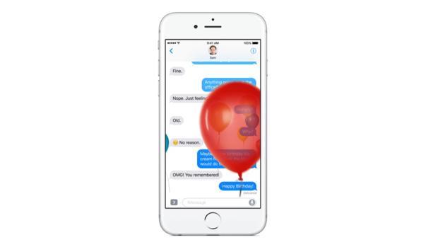 La aplicación Mensajes se renueva al completo en iOS 10 para competir contra WhatsApp