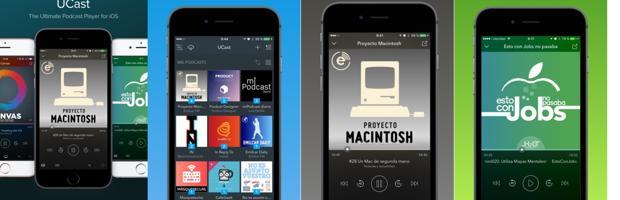 Ucastapp, una «app» para reproducir podcast