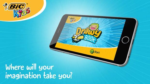 DrawyBook: una «app» para que los niños se adentren en el mundo digital de una forma educativa