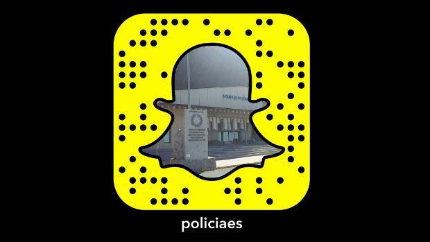 Policía Nacional se estrena en Snapchat