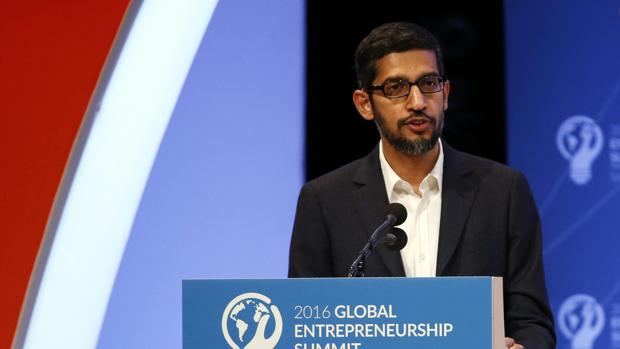 Sundar Pichai, CEO de Google, «hackeado»