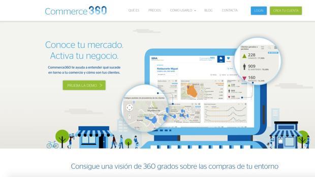BBVA presenta Commerce 360: aplicación y «Big Data» para una pyme digitalizada