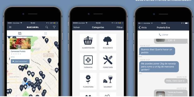 Manzaning: una aplicación para «revivir» el comercio de barrio