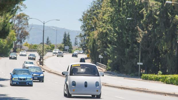 Detalle de un coche de Google