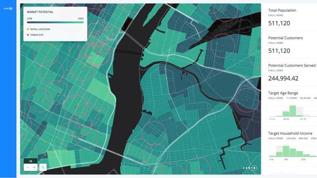 El nuevo golpe de CartoDB: pasa a ser Carto y apuesta por retorcer los mapas interactivos