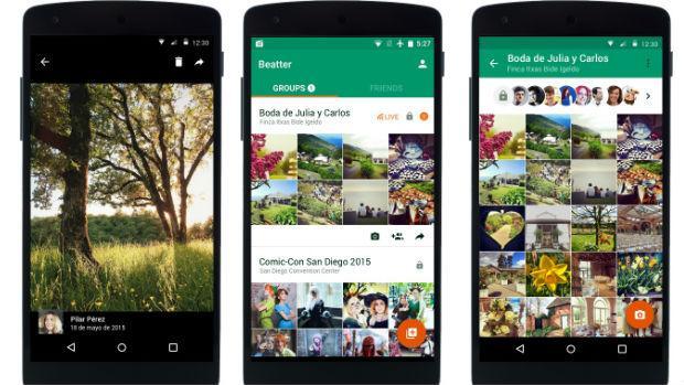 Beatter, la «app» española para compartir fotos en directo