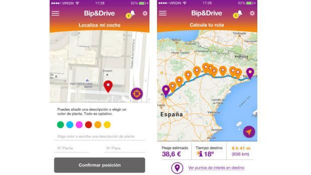 Bip&Drive, la primera «app» para el telepeaje