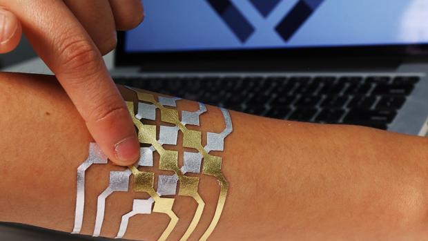 DuoSkin, un tatuaje temporal pero inteligente