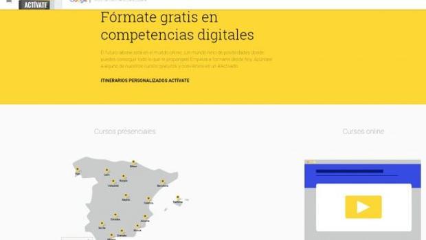 Google Actívate. Cursos gratis #Activado