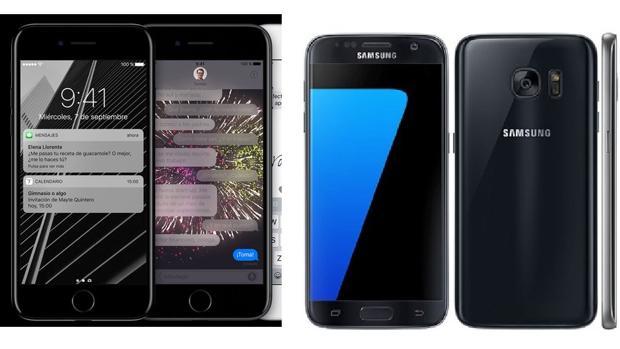Comparativa del iPhone 7 frente al Samsung Galaxy S7: ¿cuál es mejor?