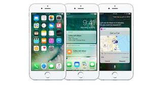 Captura del nuevo diseño de iOS 10