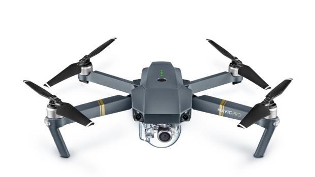 DJI Mavic Pro: un drone plegable que cabe en un bolso